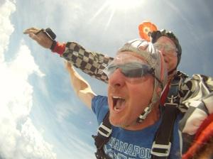 john skydiving