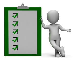 Checklist Clipboard Shows Test research Or Survey